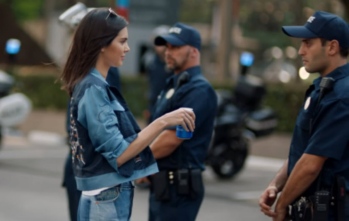 Kendall Jenner in the new Pepsi advert