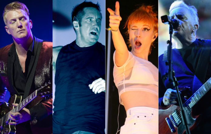 Queens Of The Stone Age, Nine Inch Nails, Paramore and New Order are all set to play Riot Fest 2017