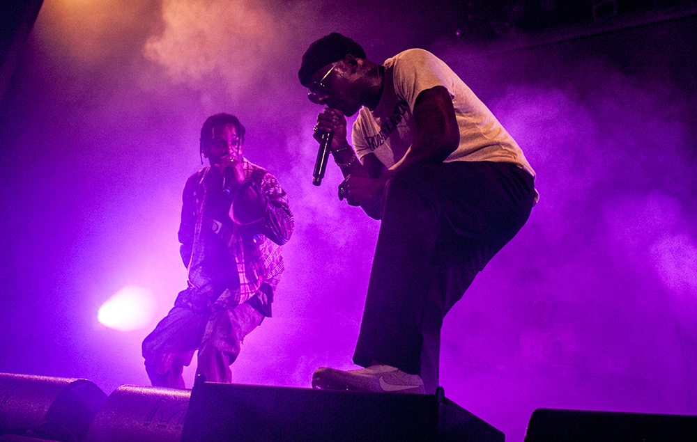 A$AP Rocky and Skepta
