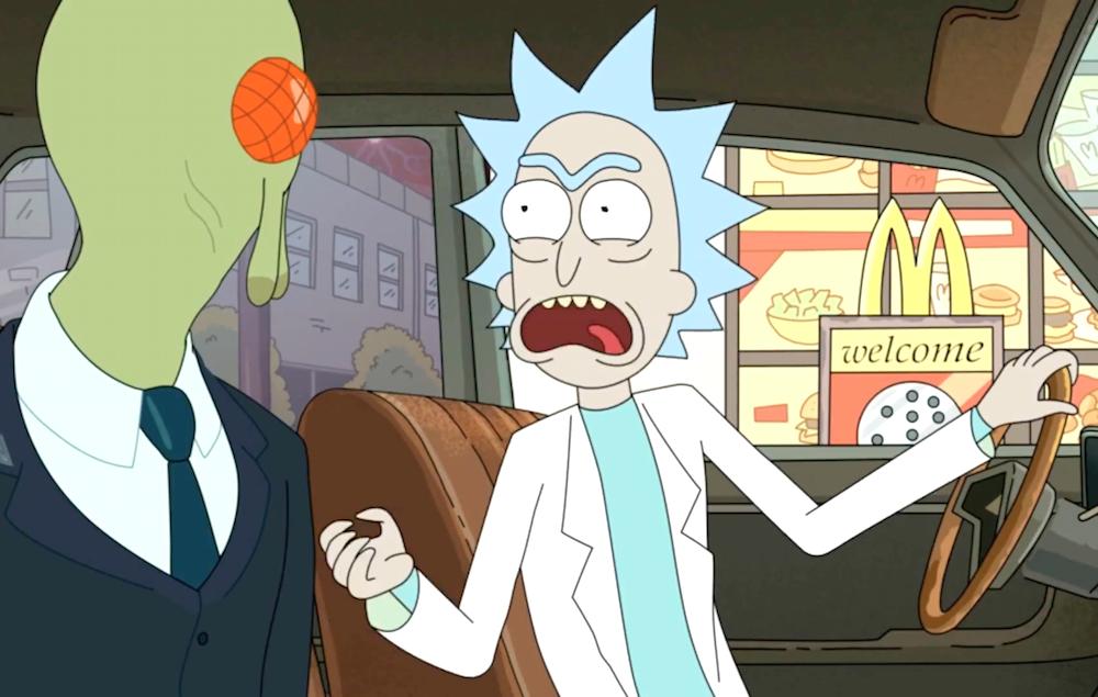 Rick and Morty szechuan Mulan sauce