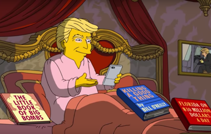 'Donald Trump' in 'The Simpsons'