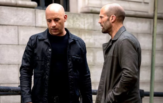 Vin Diesel, Jason Statham in 'F&F8'