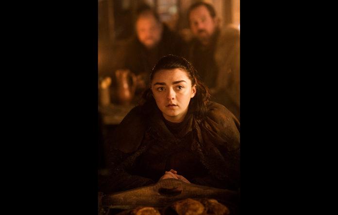 Arya in Game of Thrones season 7