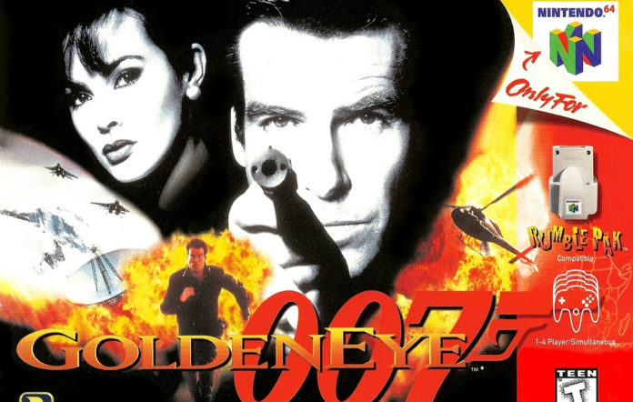 Goldeneye for the N64