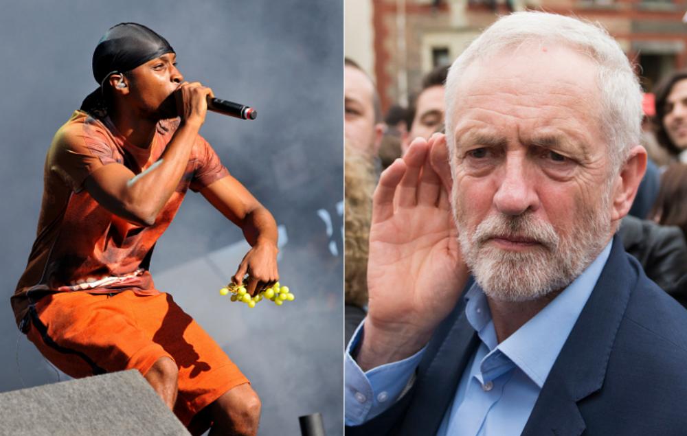 JME and Jeremy Corbyn