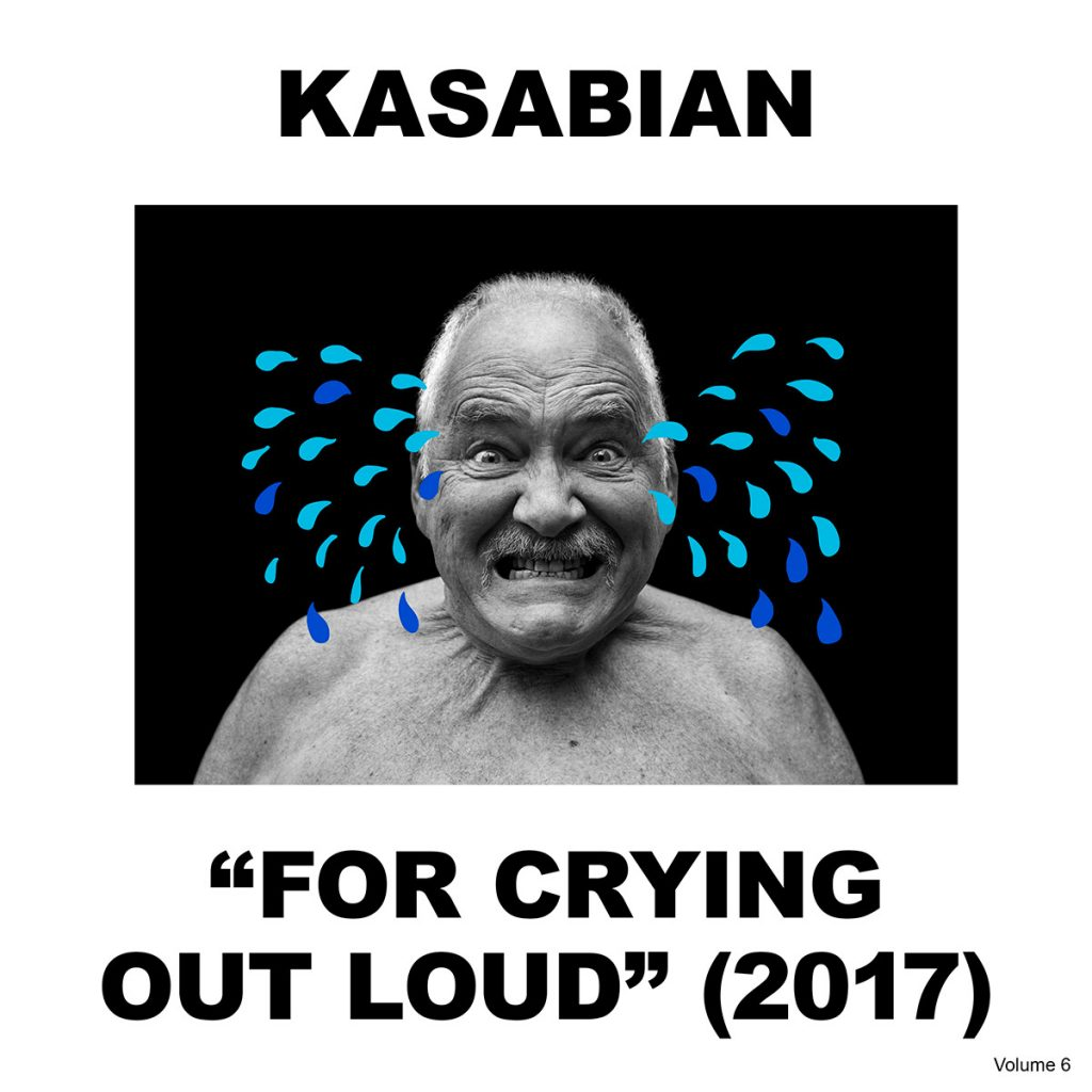 Kasabian's album artwork for 'For Crying Out Loud'