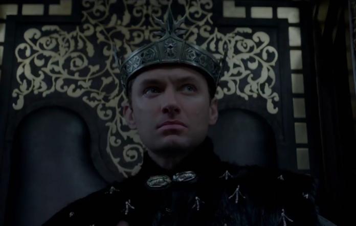 Jude Law in 'King Arthur: Legend of the Sword'