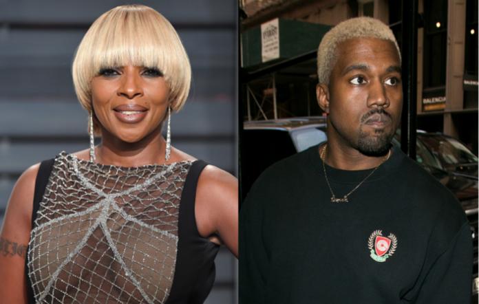 Mary J. Blige and Kanye West