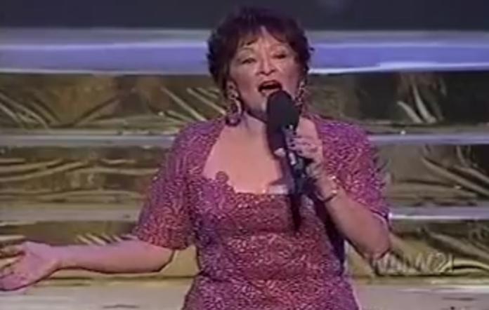 Rosie Hamlin performing in 2002