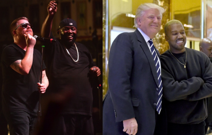 Run The Jewels / Donald Trump and Kanye West