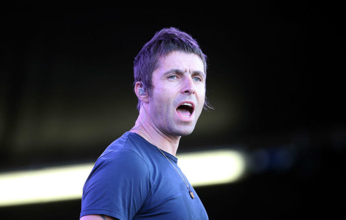 Liam Gallagher Wall of Glass video