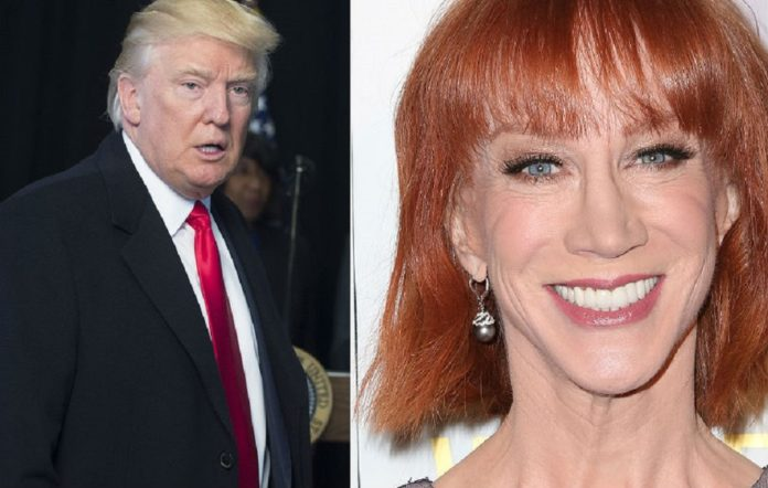 Donald Trump and Kathy Griffin