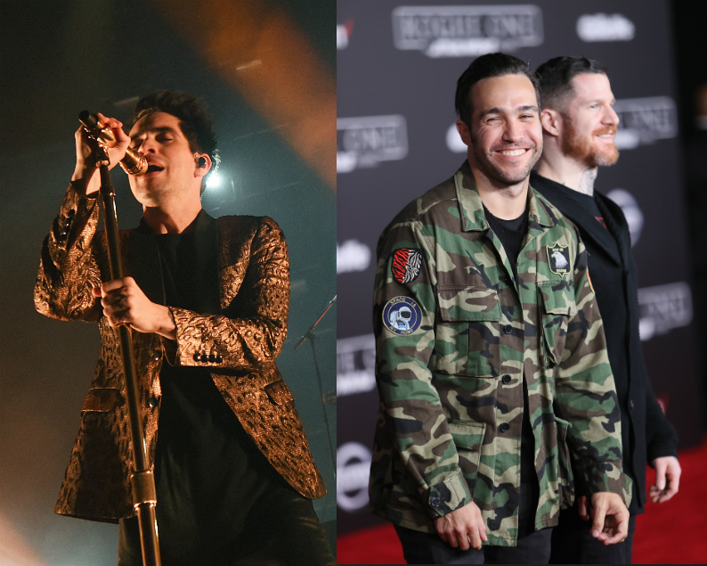 Panic At The Disco S Brendon Urie Stars In Fall Out Boy Teaser Clip