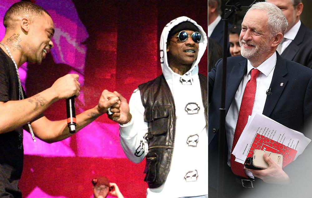 Wiley, Skepta and Jeremy Corbyn