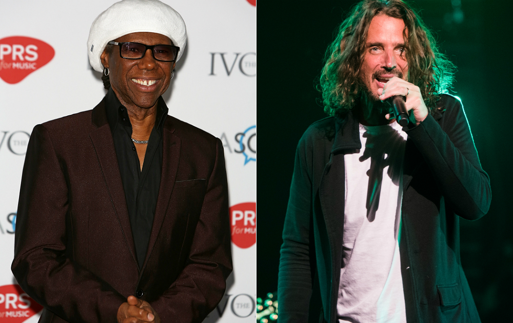 Nile Rodgers and Chris Cornell
