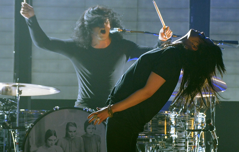 Jack White and Alison Mosshart in The Dead Weather