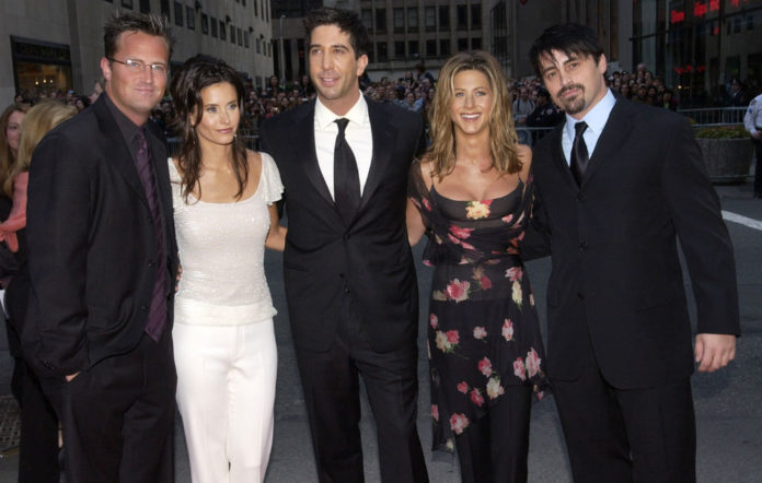 The cast of 'Friends' (minus Lisa Kudrow)
