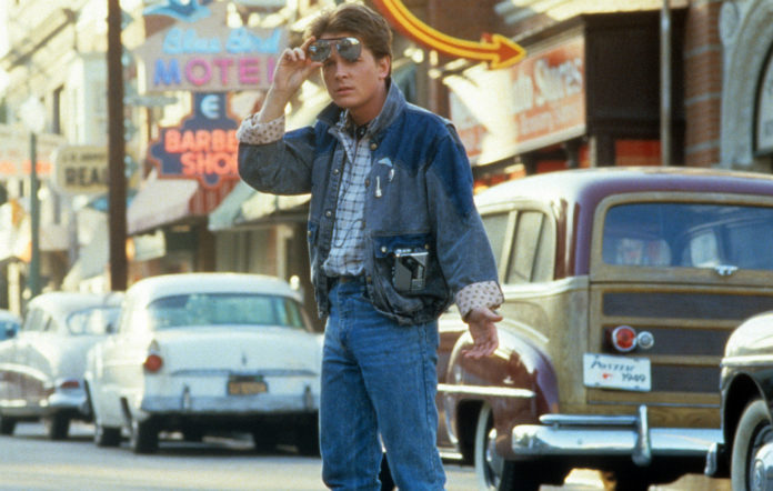 Marty McFly in 'Back To The Future'