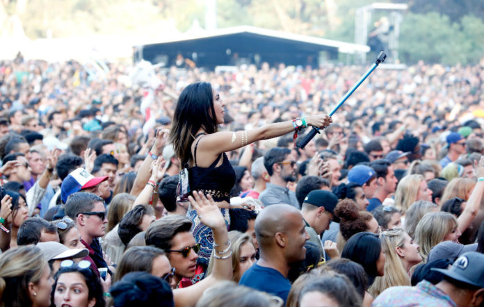 Could this scene be a thing of the past at music festivals?