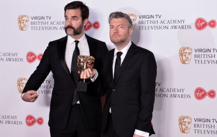 Rob Delaney and Charlie Brooker