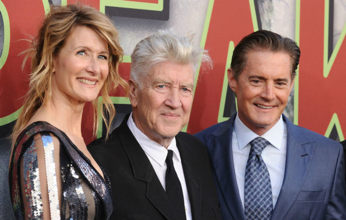 Laura Dern, David Lynch and Kyle MacLachlan