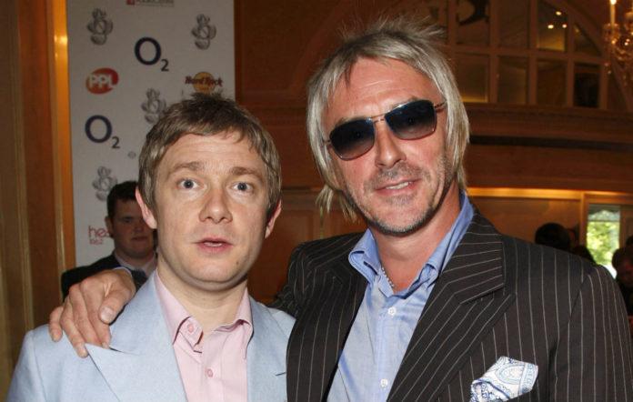 'Sherlock' star Martin Freeman and Paul Weller