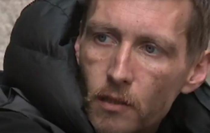 Homeless hero Stephen Jones