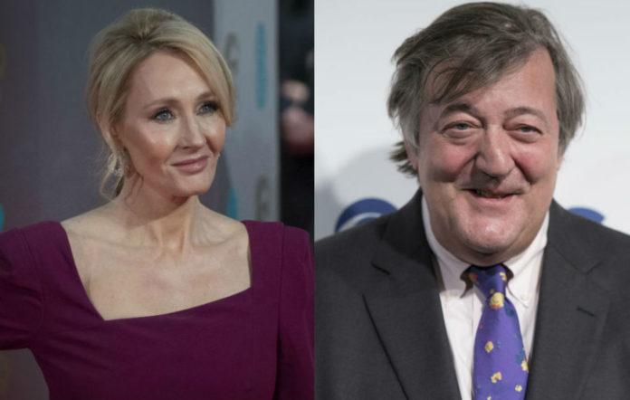 JK Rowling, Stephen Fry