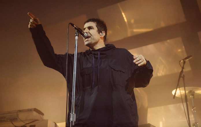 Liam Gallagher, live at Manchester Ritz