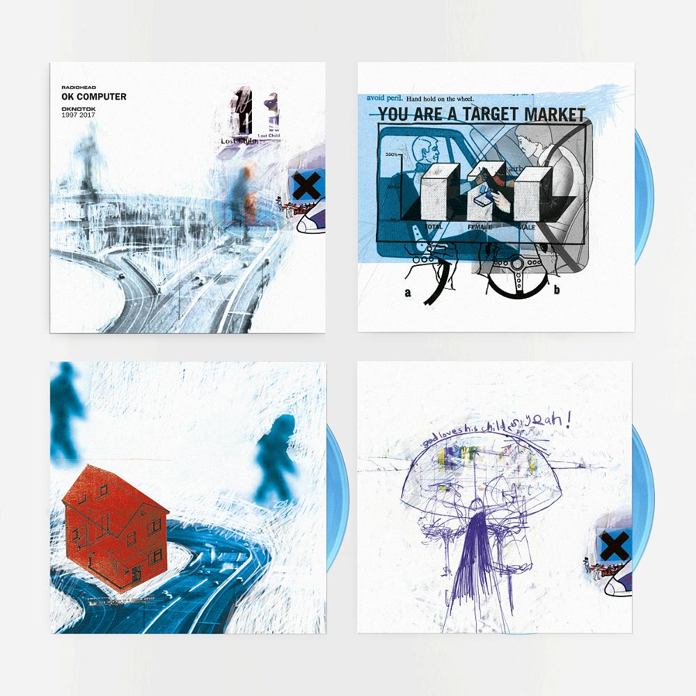 Radiohead's 'OK Computer' reissue on double triple blue vinyl