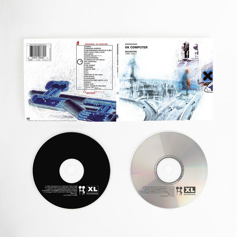 Radiohead's 'OK Computer' reissue on double CD