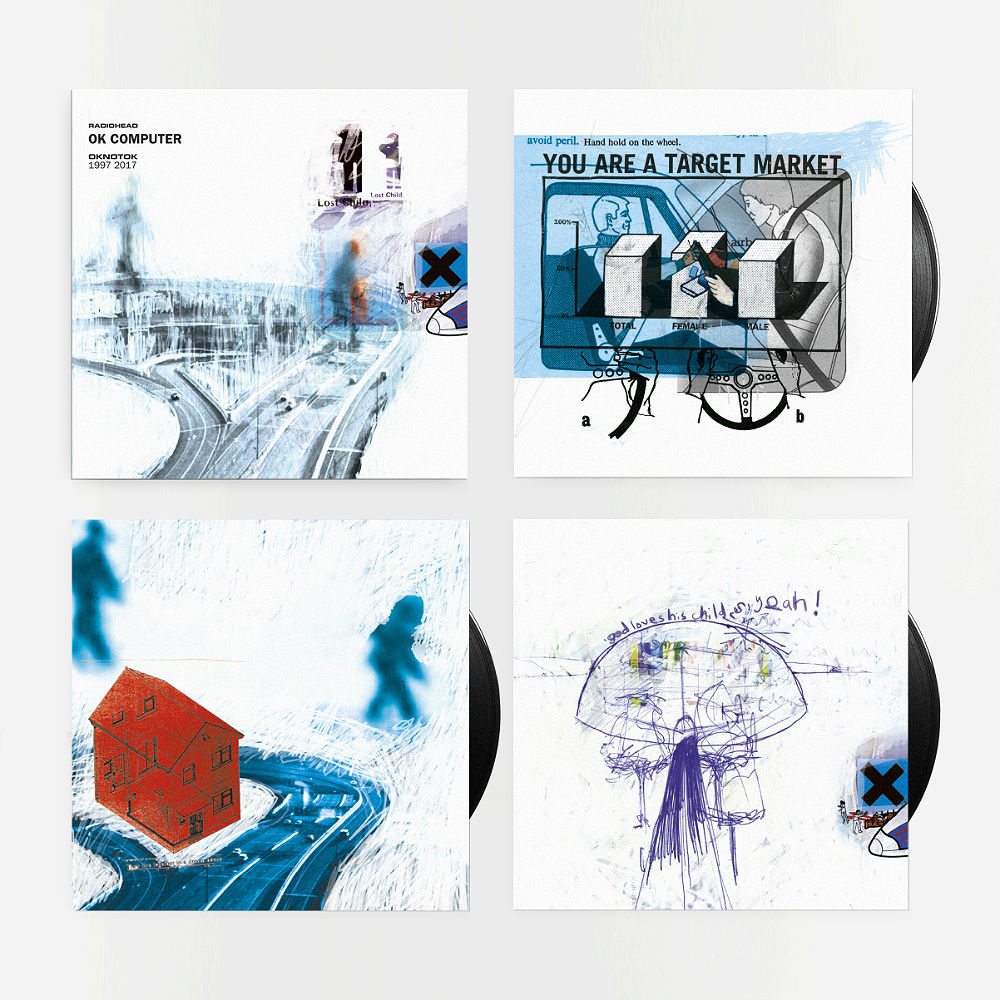Radiohead's 'OK Computer' reissue on double triple vinyl
