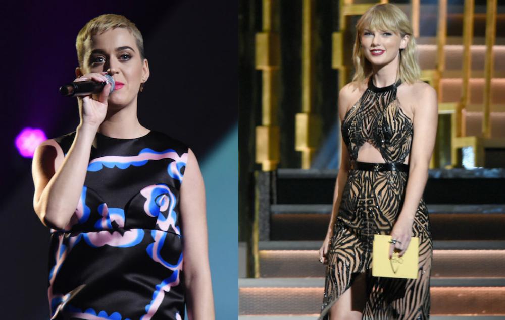 Katy Perry reveals Taylor Swift diss track Swish Swish