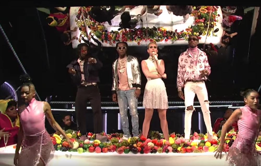 Katy Perry and Migos on SNL