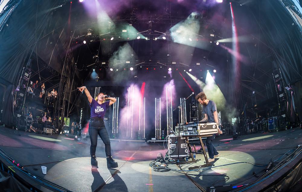 Sylvan Esso - Shaky Knees 2017
