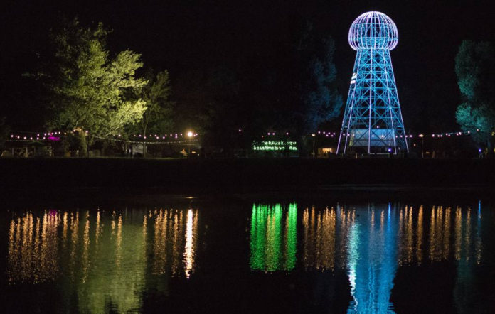 Tesla's Tower at INmusic festival