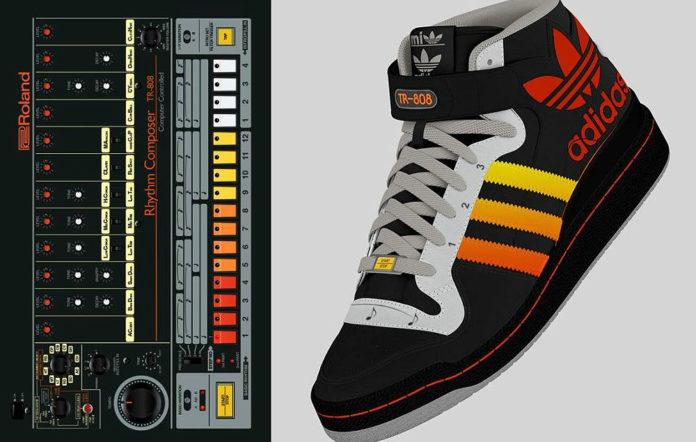 New Adidas trainer design features built-in drum machine