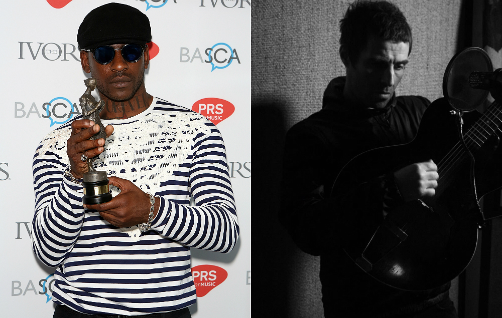 Skepta and Liam Gallagher