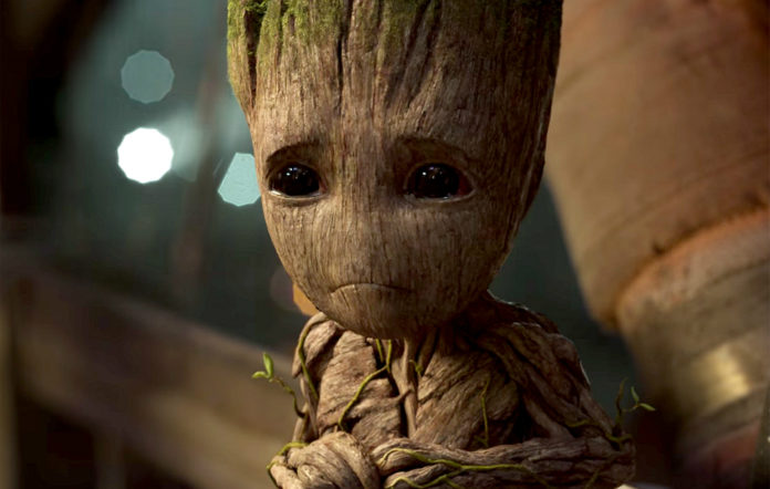 Baby Groot in 'Guardians Of The Galaxy Vol.2'