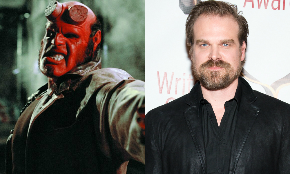 A new 'Hellboy' movie is in the works with 'Stranger Things' star David Harbour