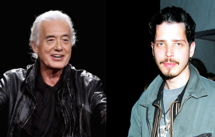 Jimmy Page has paid tribute to Chris Cornell: