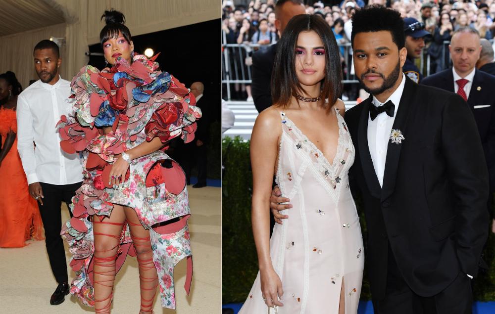 Frank Ocean, Rihanna, Selena Gomez and The Weeknd