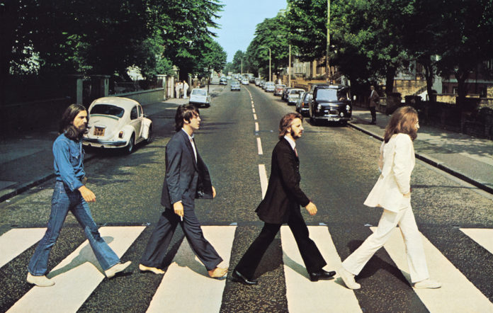 The Beatles at Abbey Road