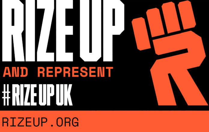 The Rize Up campaign is urging young people to vote in the June 2017 election