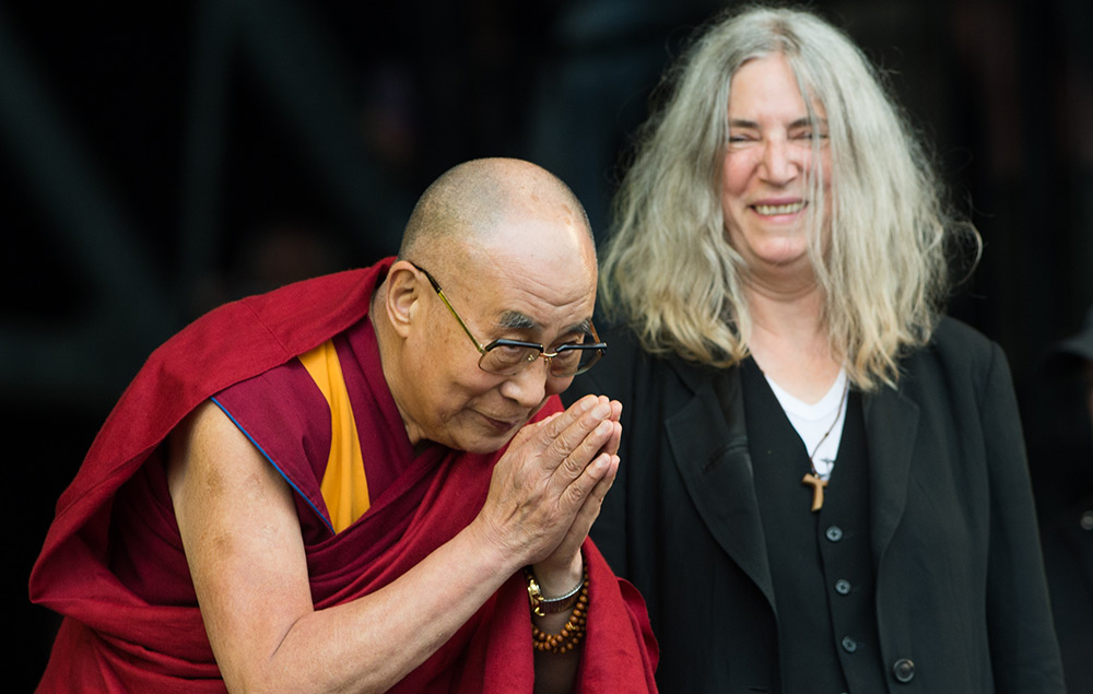 Dalai Lama, Patti Smith