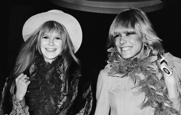 Marianne Faithfull and Anita Pallenberg