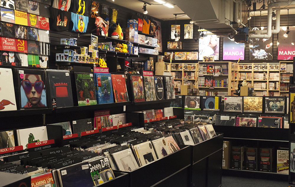 Newbury Comics Boston