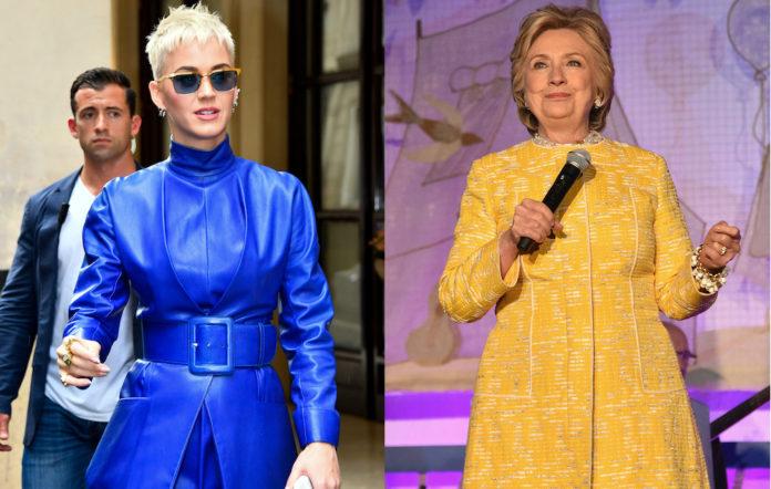 Katy Perry Hillary