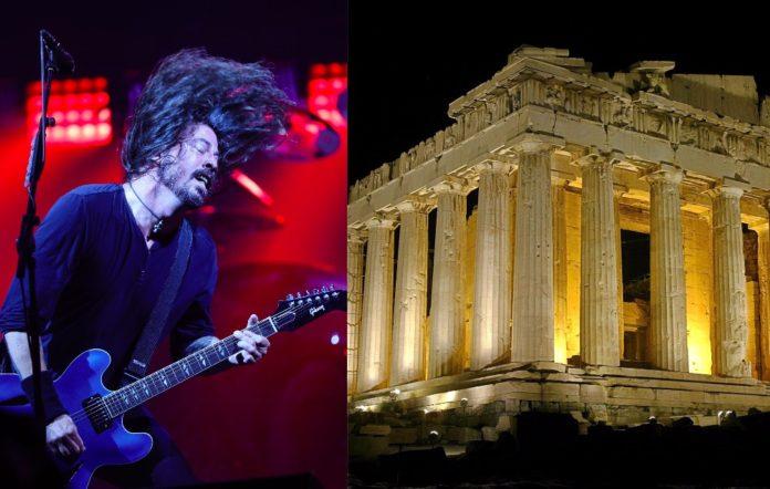 Foo Fighters Acropolis