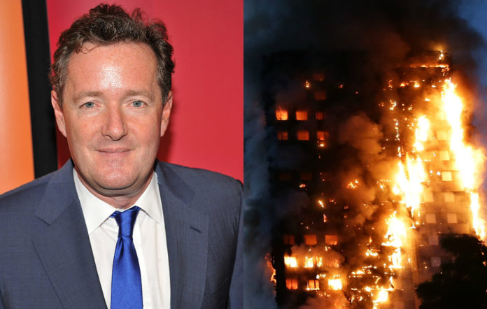 Piers Morgan and the Grenfell Tower blaze